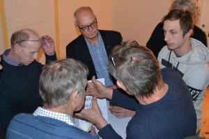 Många ville prata med regionråd Björn Jansson (S)